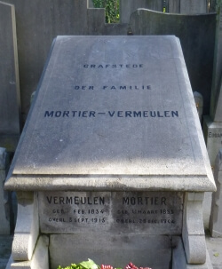 Tomb of Theophile Mortier-Joanna Vermeulen